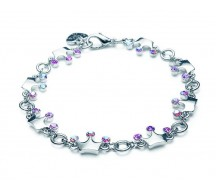 CHARM IT! Braccialetto corone princessa